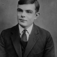 Photograph of Alan Turing