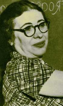 Photograph of Ida Rhodes